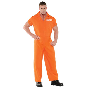 Convicted Adult Costume Standard Size - Convict & Cop Costume Halloween costumes