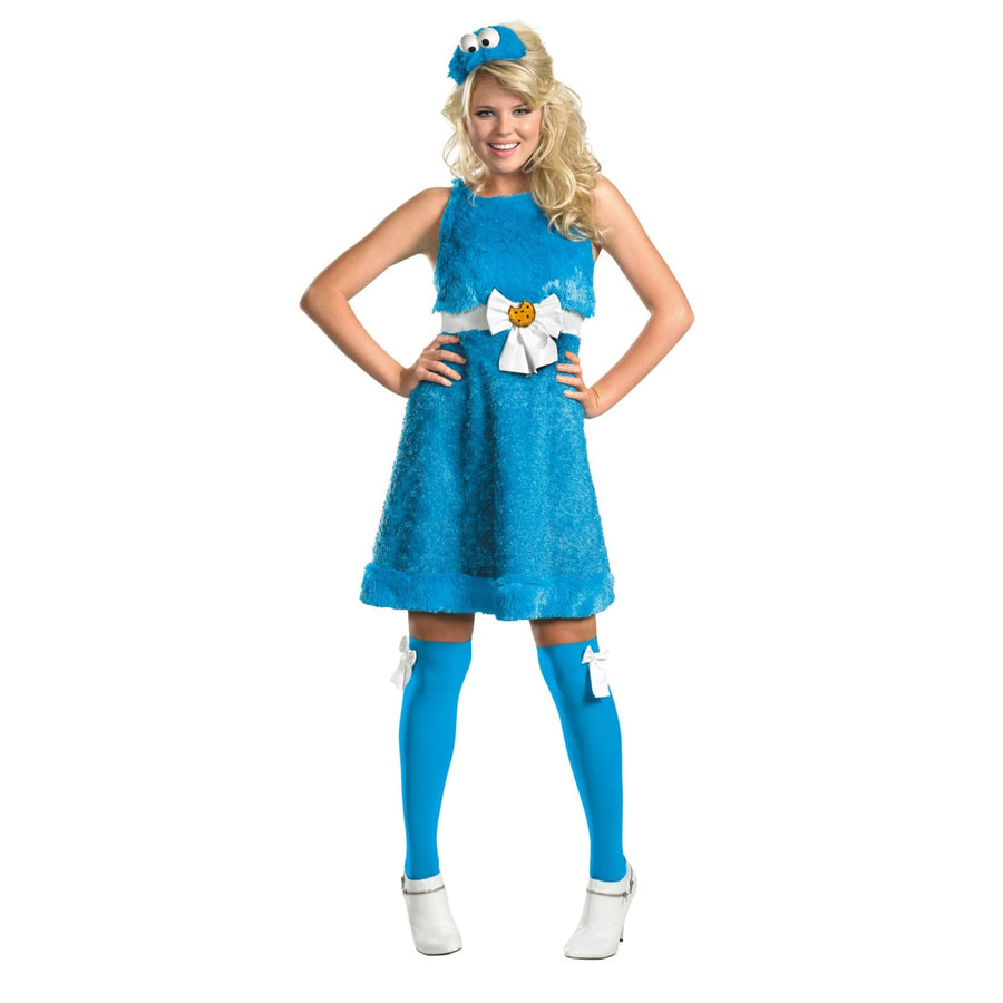 Cookie Monster Sassy 4-6 - adult halloween costumes female Halloween costumes