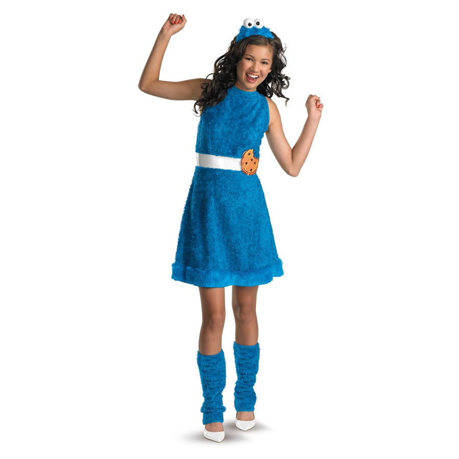 Cookie Monster Teen 14-16 - Cookie Halloween Costume Girls Costumes girls
