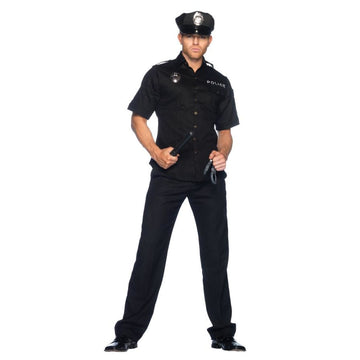 Cop Male Xl - adult halloween costumes Convict & Cop Costume halloween costumes
