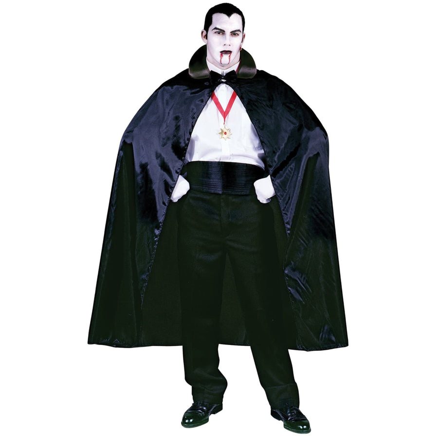 Count Cape 56In Black - Gothic & Vampire Costume Halloween costumes Robes Capes