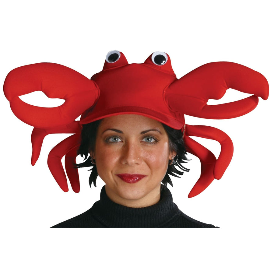 Crab Adult Cap - Animal & Insect Costume Halloween costumes Hats Tiaras &