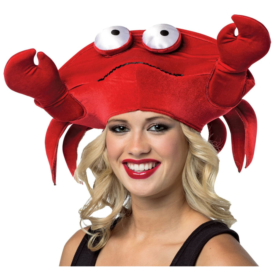 Crab Hat - Food & Drink Costume Halloween costumes Hats Tiaras & Headgear
