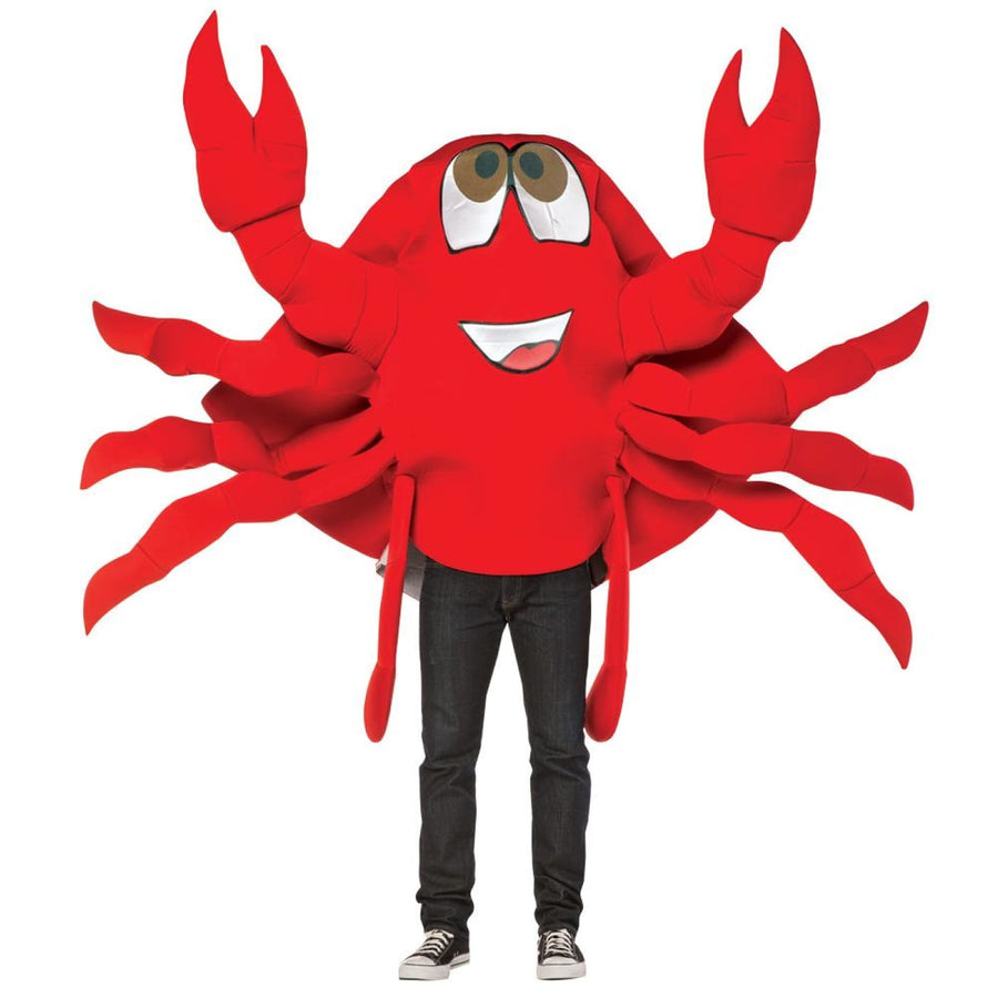 Crab Waver Adult Costume - adult halloween costumes Food & Drink Costume