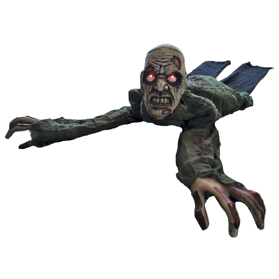 Crawling Zombie Animated - Decorations & Props Halloween costumes haunted house