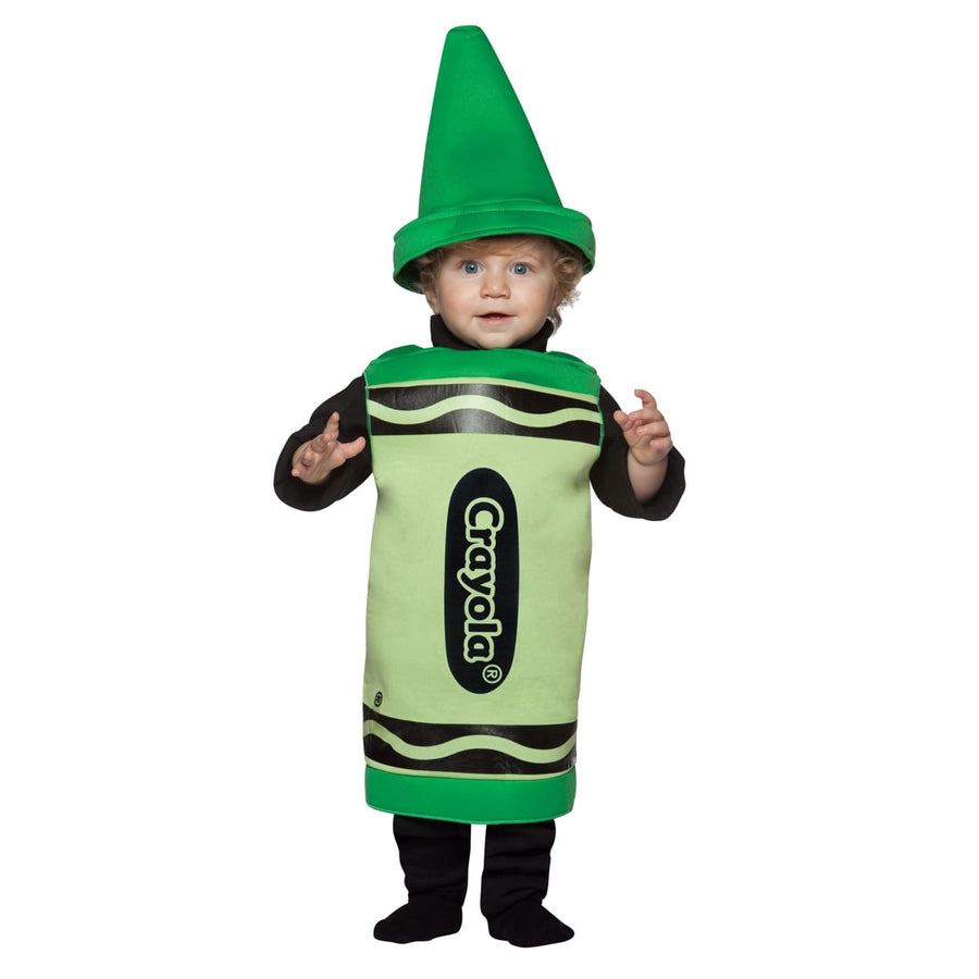 Crayola Green Toddler Costume 18-24 Mnths - Crayola Halloween Costume Game