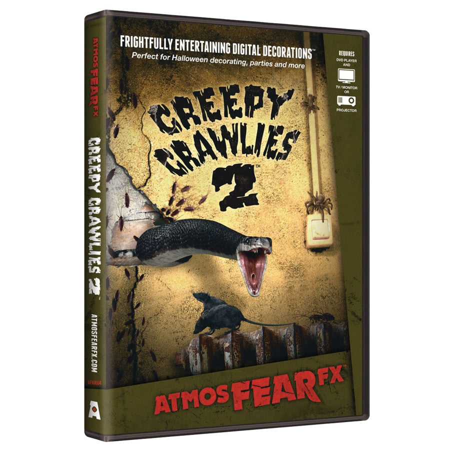 Creepy Atmosfearfx DVD - Halloween costumes Videos Books & Audio