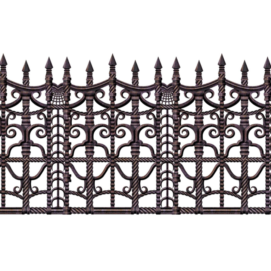 Creepy Fence Border - Decorations & Props Halloween costumes haunted house