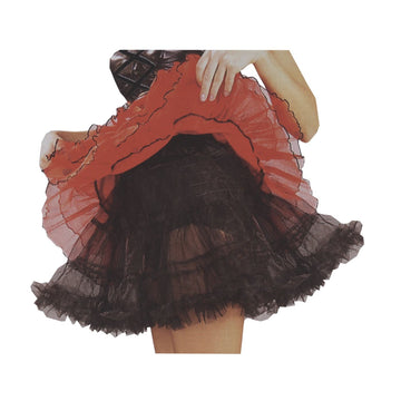 Crinoline Black Adult Plus - Halloween costumes Tights Socks & Underwear