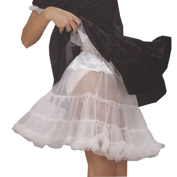 Crinoline White Adult Plus - Halloween costumes Tights Socks & Underwear