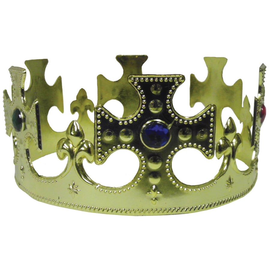 Crown Jeweled Plastic - Halloween costumes Hats Tiaras & Headgear Royalty &