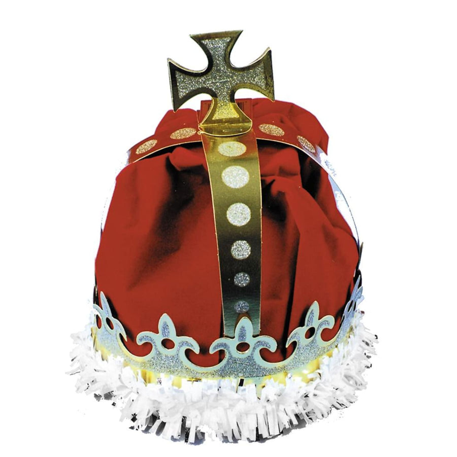 Crown Kings Paper Red - Halloween costumes Hats Tiaras & Headgear Royalty &