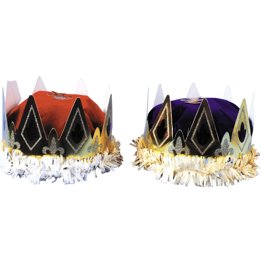 Crown Queens Paper Blue - Halloween costumes Hats Tiaras & Headgear Royalty &