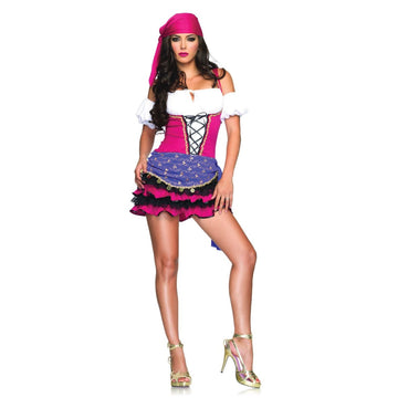 Crystal Ball Gypsy Sm-Med - adult halloween costumes female Halloween costumes