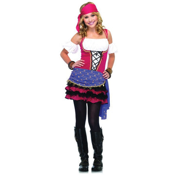 Crystal Bally Gypsy Med-Lg - adult halloween costumes female Halloween costumes