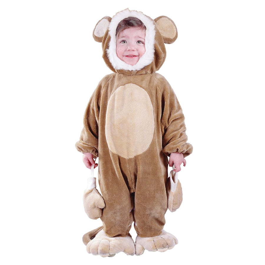Cuddly Monkey Baby Costume 6-12 Mo - Animal & Insect Costume baby boy costumes