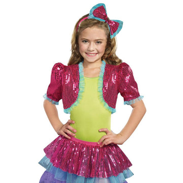 Dance Craze Bolero Pink Kids Costume Small-Medium - Girls Costumes girls