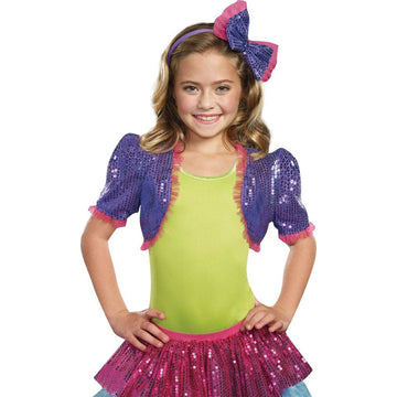 Dance Craze Bolero Purple Kids Costume Medium-Large - Girls Costumes girls