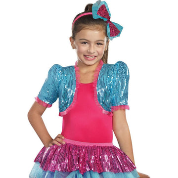 Dance Craze Bolero Turq Kids Costume Small-Medium - Girls Costumes girls