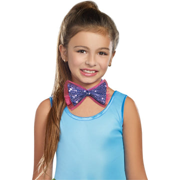 Dance Craze Child Costume Bowtie Purple - Glasses Gloves & Neckwear Halloween