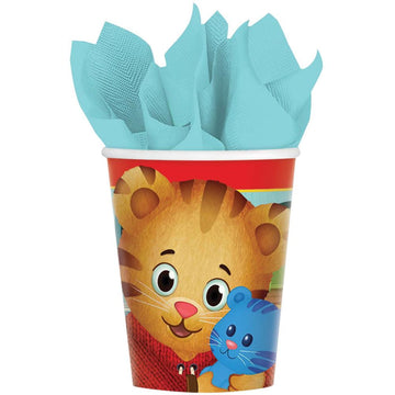 Daniel Tiger 9 Oz Paper Cups -Set of 8 - Birthday Party Decorations Birthday