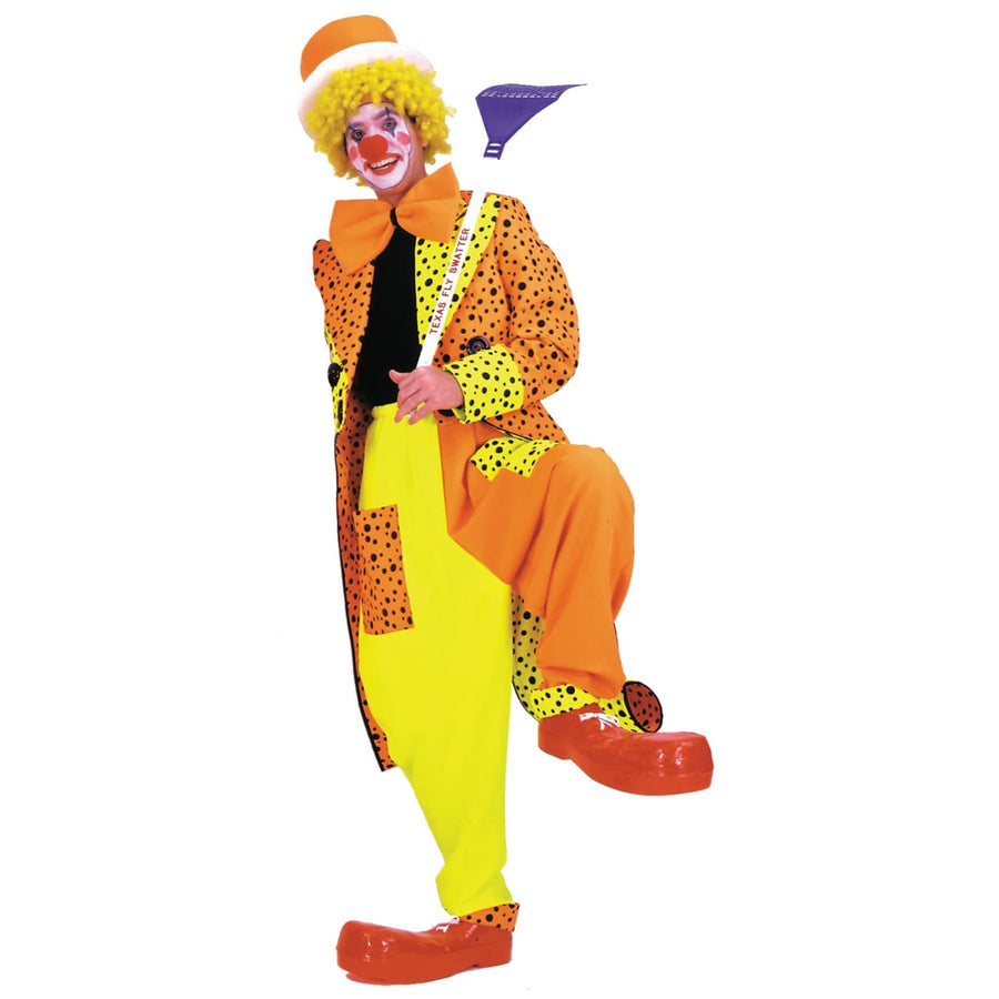 Dapper Dan Neon Clown Lg - Clown & Mime Costume clown costumes Halloween