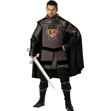 Dark Knight 2Xl - Medieval & Renaissance Costume Mens Costumes Mens Plus Size
