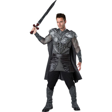 Dark Medieval Knight Adult Costume Large - Halloween costumes Medieval &