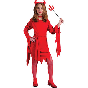 Darling Devil Child Sm - Girls Costumes girls Halloween costume Halloween