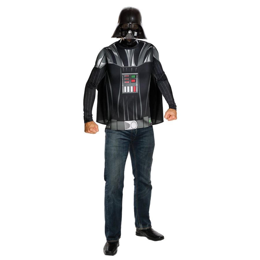 Darth Vader Top Cape and Mask Mens Costume Md - adult halloween costumes