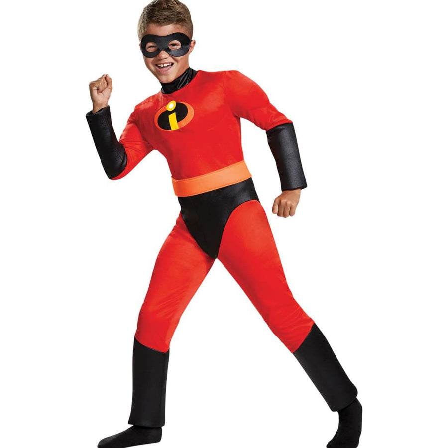 Dash Classic Muscle Boys Costume Md 7-8 - Boys Costumes Dash Classic Muscle Boys