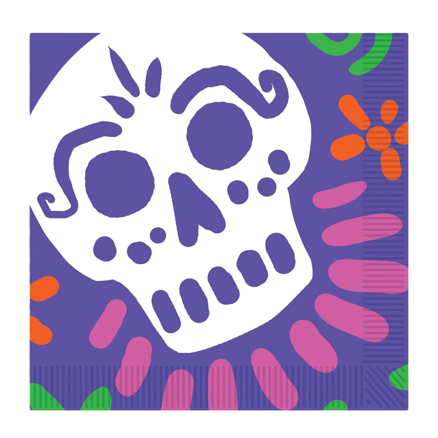 Day Of The Dead Luncheon Napinkins - Decorations & Props Halloween costumes