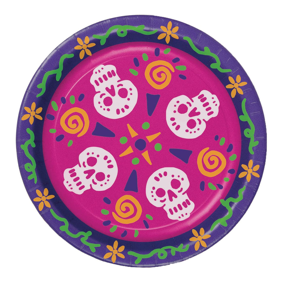 Day Of The Dead Plates - Decorations & Props Halloween costumes haunted house