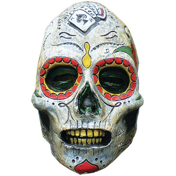 Day Of The Dead Zombie Latex Mask - Costume Masks Ghoul Skeleton & Zombie