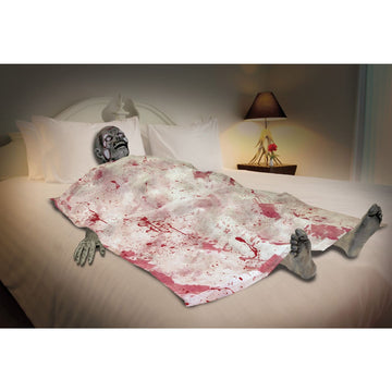Death Bed Zombie Sheet - Decorations & Props Halloween costumes haunted house