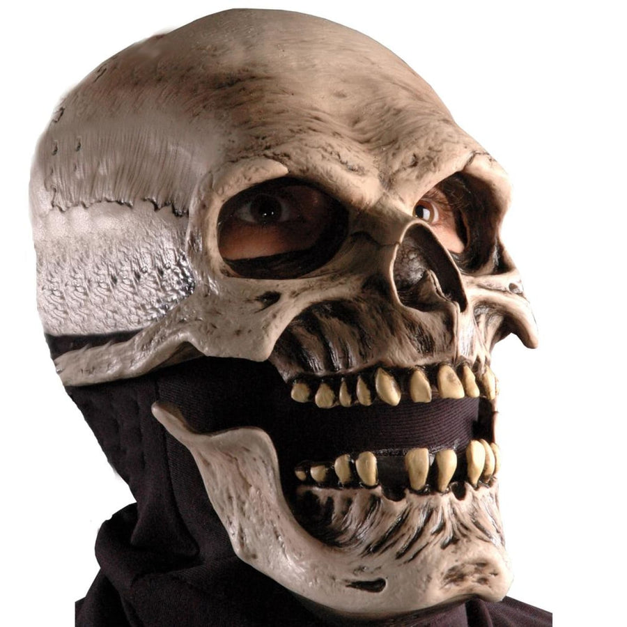 Death Latex Mask - Costume Masks Ghoul Skeleton & Zombie Costume Halloween