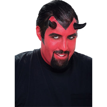 Demon Horns Black - Demon & Devil Costume Halloween costumes Hats Tiaras &