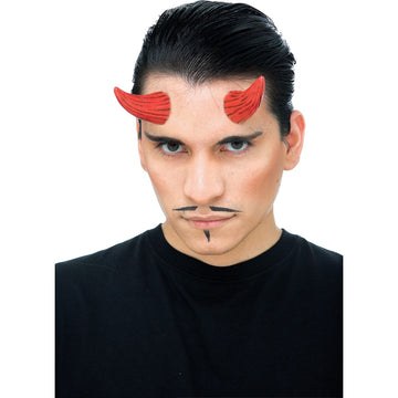 Demon Horns Red - Demon & Devil Costume Hats Tiaras & Headgear