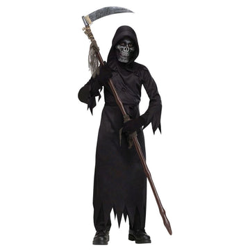 Demon Of Doom Boys Costume Medium 8-10 - Boys Costumes Ghoul Skeleton & Zombie