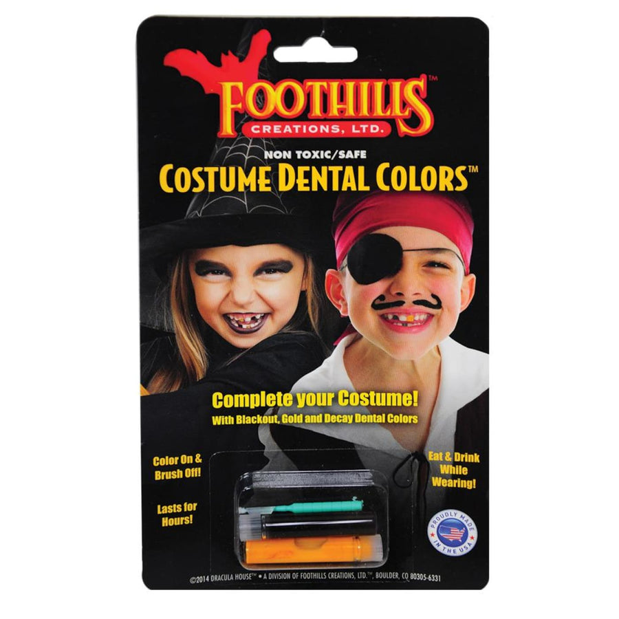 Dental Colors - Costume Makeup New Costume