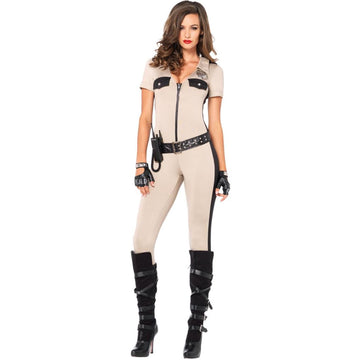 Deputy Patdown Adult Costume Small - adult halloween costumes Convict & Cop