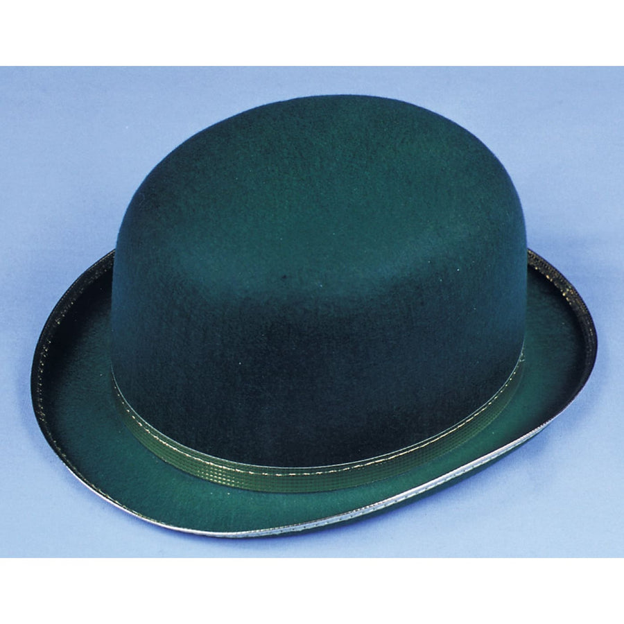 Derby Felt Green Lg - 20s - 40s Costume Halloween costumes Hats Tiaras &
