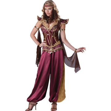 Desert Jewel Adult Costume Lg - adult halloween costumes Belly Dancer & Eastern
