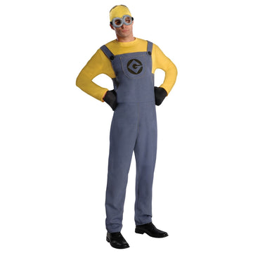 Despicable Me 2 Minion Dave Adult Costume - adult halloween costumes halloween