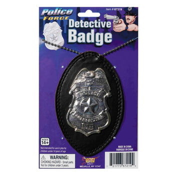 Detective Badge - Convict & Cop Costume Halloween costumes Holiday Costumes