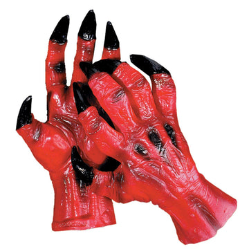 Devil Hands - Demon & Devil Costume Halloween costumes Hands Feet & Chest
