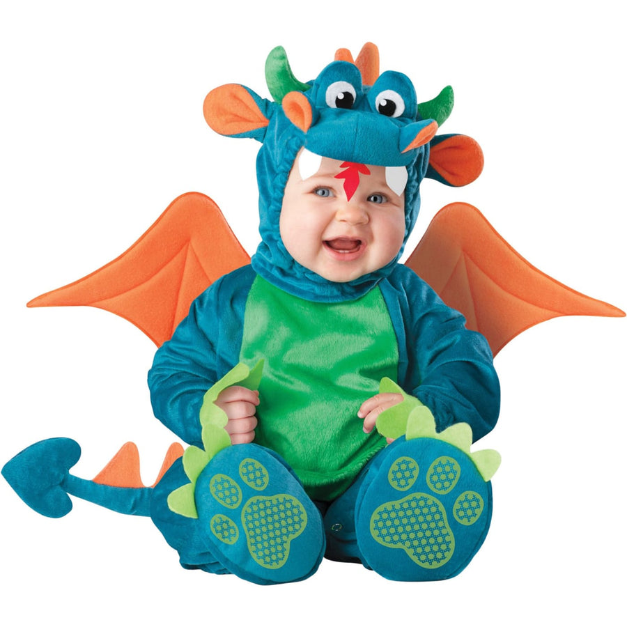 Dinky Dragon Infant 6-12 Mon - Animal & Insect Costume Baby Costumes Dinky