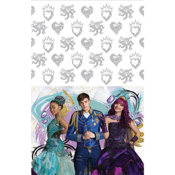 Disney Descendants II Party Table Cover - Birthday Party Decorations Birthday