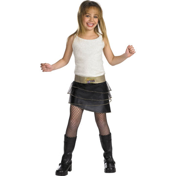Disney Hannah Montana Quality Costume 4-6X - Disney Halloween Costume Girls