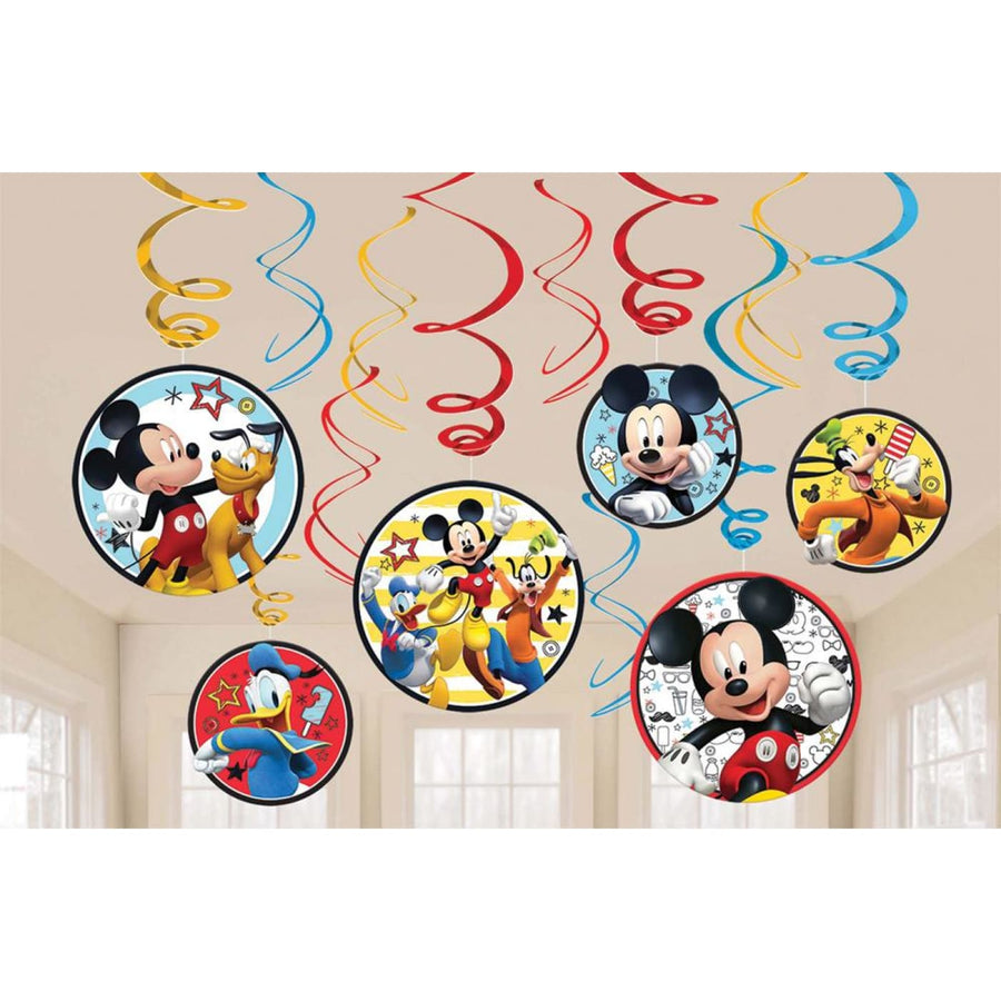 Disney Mickey Mouse Foil Decor - Birthday Party Decorations Birthday Party